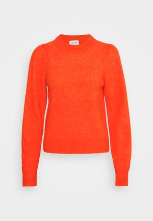 NIMA VOLUMEN O NECK - Jumper - poinciana