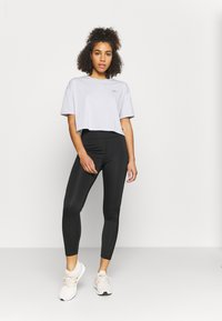Cotton On Body - RELAXED ACTIVE - Print T-shirt - grey marle/balance - 1