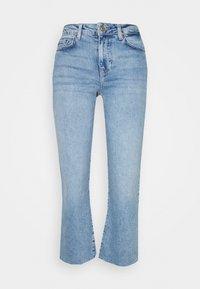 PCANE KICK - Flared Jeans - light blue denim