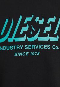 Diesel - S-GIRK-A74 UNISEX - Sweatshirt - black - 2