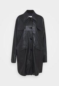 MM6 Maison Margiela - Short coat - black - 7
