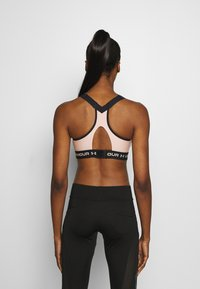 Under Armour - High support sports bra - desert rose - 2