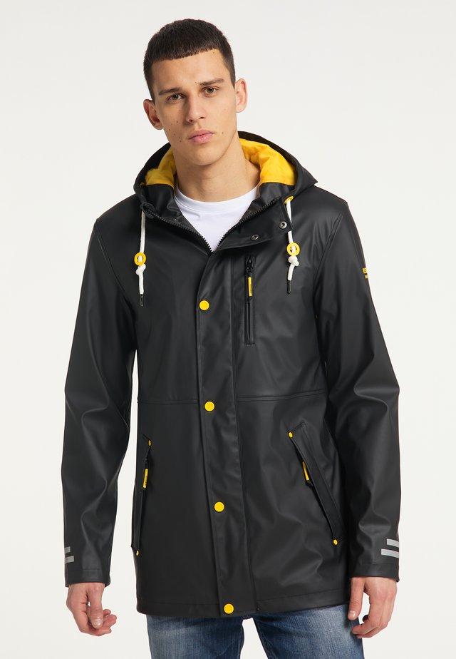 Regnjakke / vandafvisende jakker - schwarz