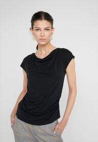 WEEKEND MaxMara - MULTIF - Print T-shirt - nero - 0