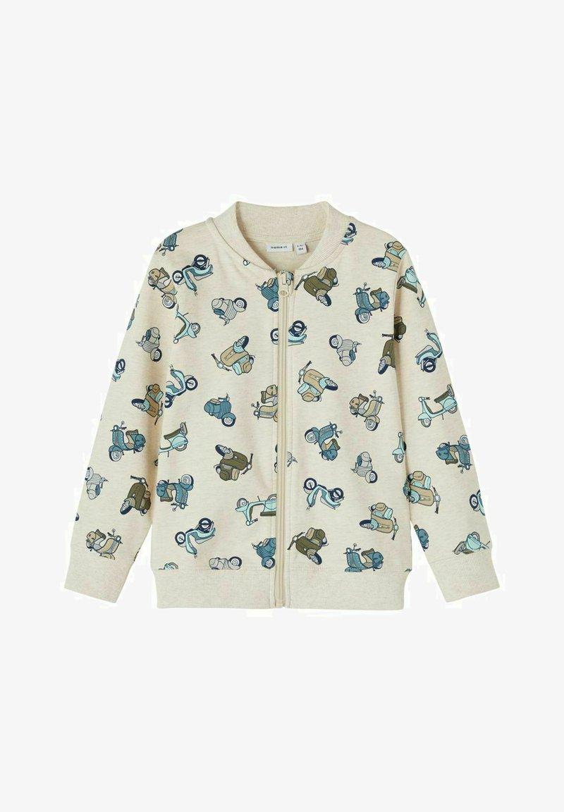 Name it - Zip-up hoodie - peyote melange