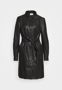 Kaffe - KALEANN DRESS - Shirt dress - black deep - 5