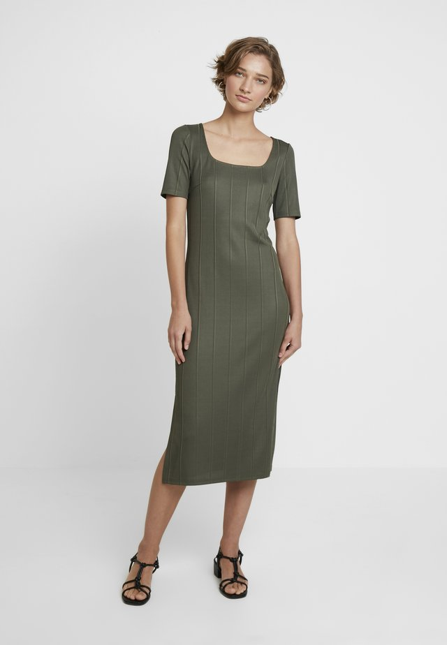 Day dress - olive night