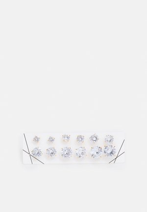 GRELILLAN 6 PACK - Earrings - clear/gold-coloured