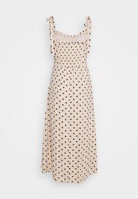 Object - OBJELLIE LONG STRAP DRESS  - Denní šaty - sandshell - 1