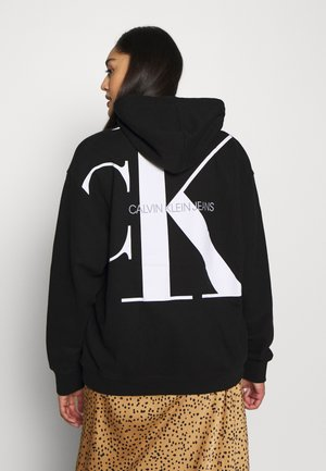 PLUS LARGE HOODIE - Sweat à capuche - black