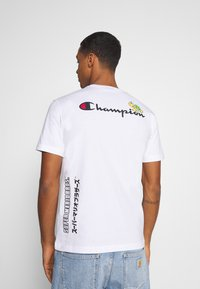 Champion Rochester - CREWNECK NINTENDO - Print T-shirt - white - 2