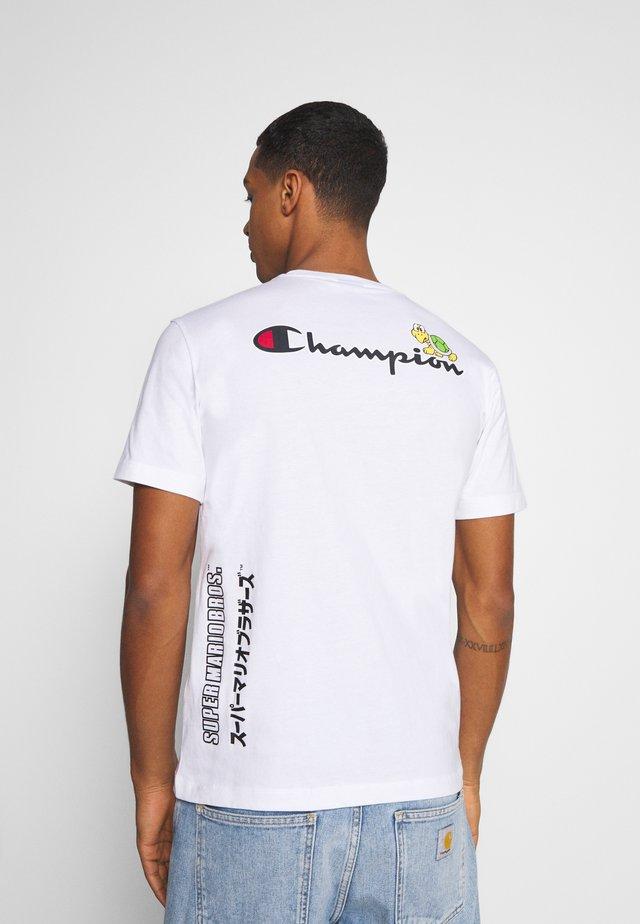 CREWNECK NINTENDO - T-shirt imprimé - white