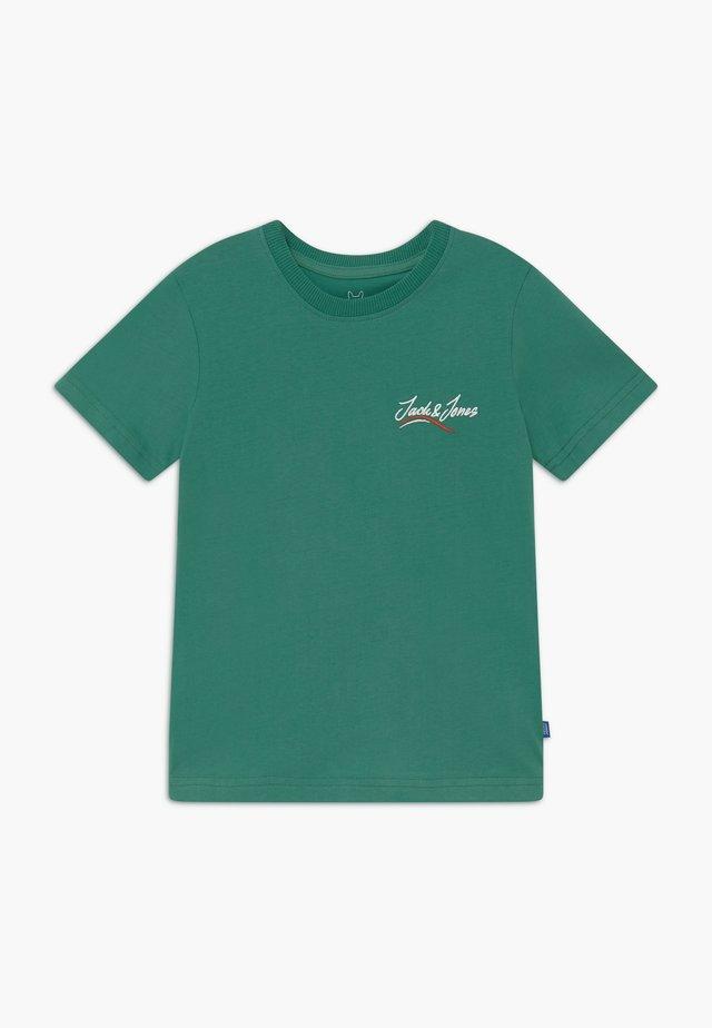 JORFLEXX TEE CREW NECK  - T-shirt z nadrukiem - green