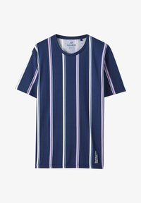 PULL&BEAR - T-shirt print - dark blue - 3