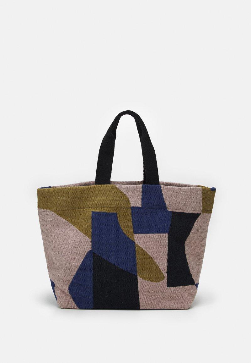 CLOSED - TEKLA SHOPPER - Tote bag - multi-coloured