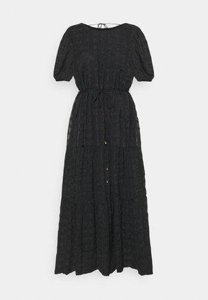 ONLLIA MIDI DRESS - Robe d'été - black