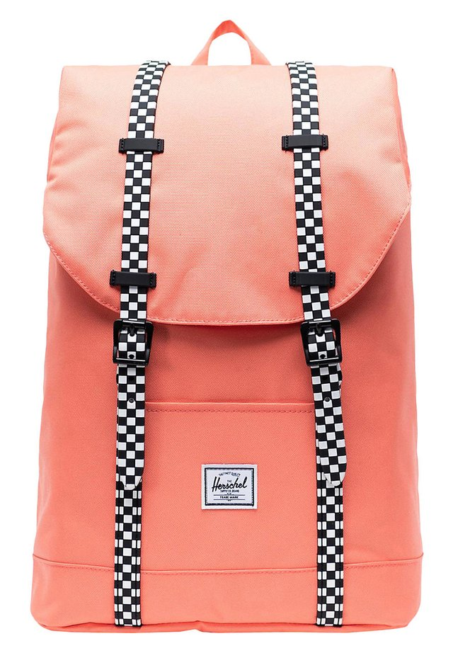 RETREAT - Rucksack - fresh salmon/checkerboard rubber [02748]