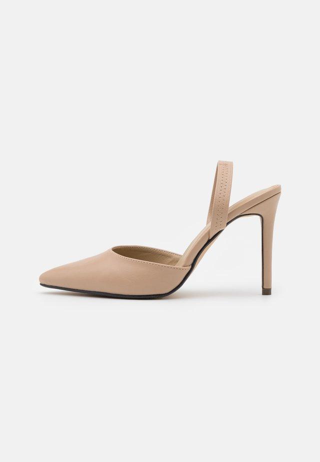 TENI - High heels - nude