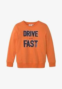 TOM TAILOR - MIT PLATZIERTEM PRINT - Sweatshirt - firecracker|orange - 0