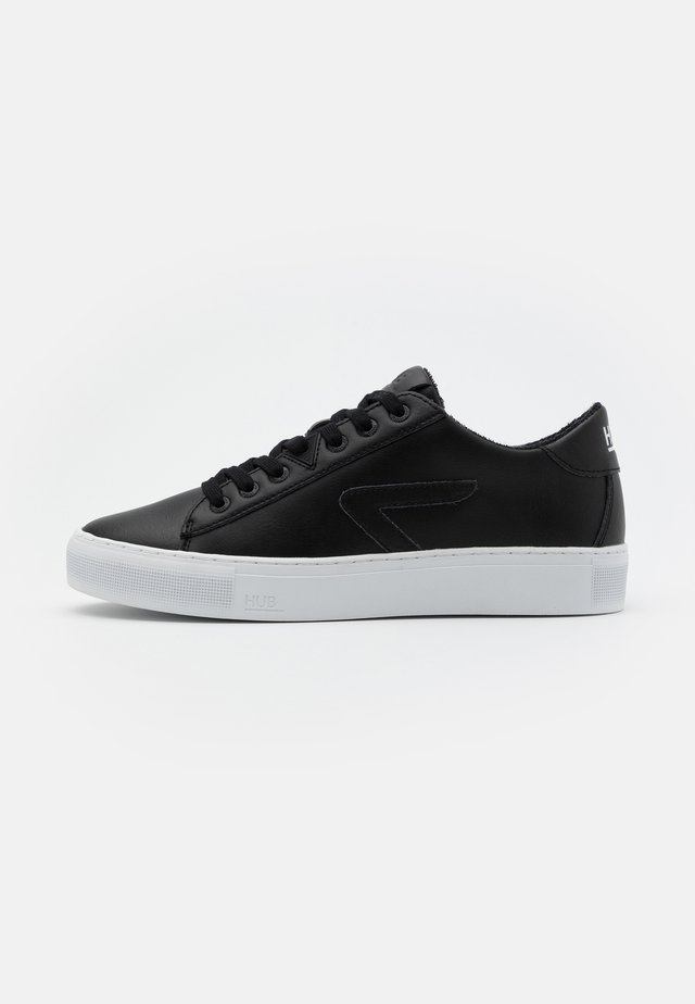HOOK  - Sneakers basse - black/white