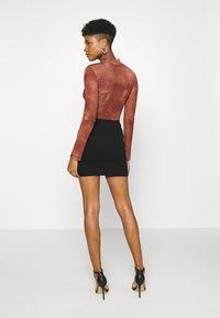 Monki - DARIA SKIRT - Mini skirt - black - 2