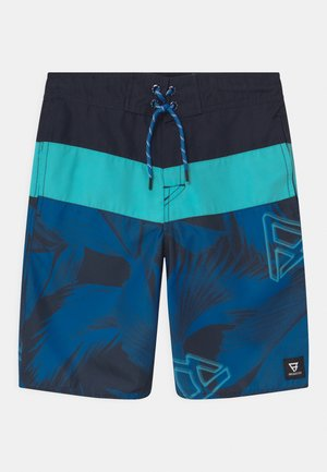 CATAMARAN LEAF - Swimming shorts - mid blue