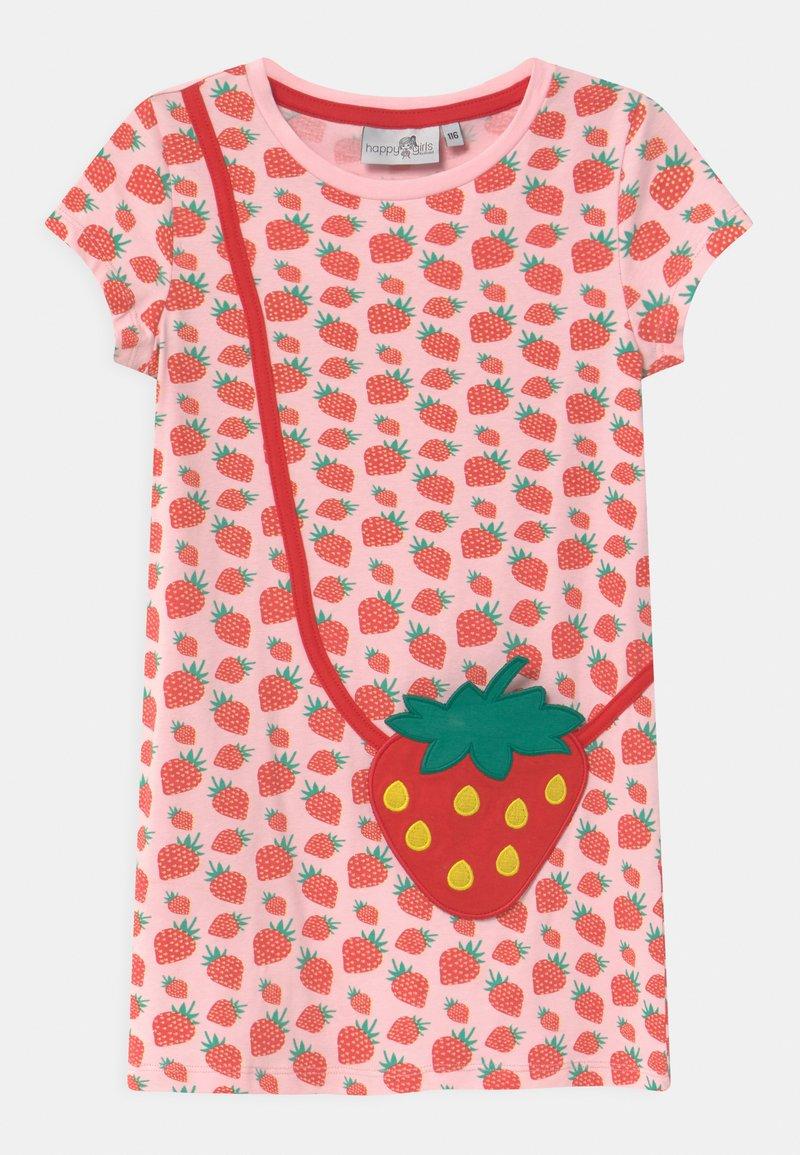 happy girls - Žerzejové šaty - rose