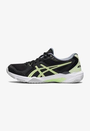 GEL-ROCKET  - Tennisschoenen voor alle ondergronden - black/illuminate yellow