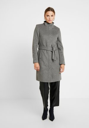 SLFMEA COAT - Kort kåpe / frakk - medium grey melange