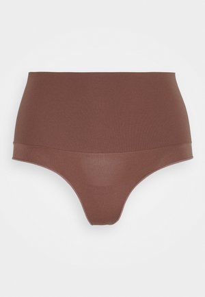 TAKE CONTROL HIGH WAIST G STRING - Thong - cappucino