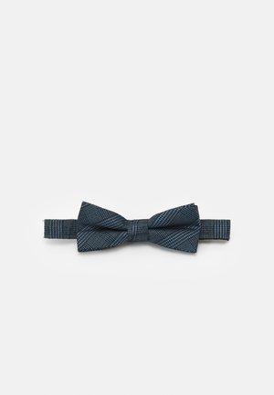 HABERDASHER PLAID BOWTIE - Mucha - light blue