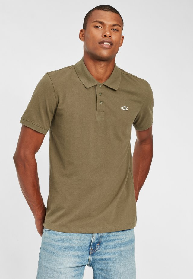 OCEAN DAY - Polo - dusty olive