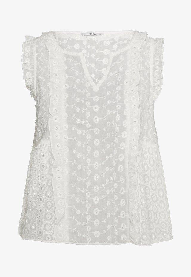 ONLAMABEL - Blusa - white