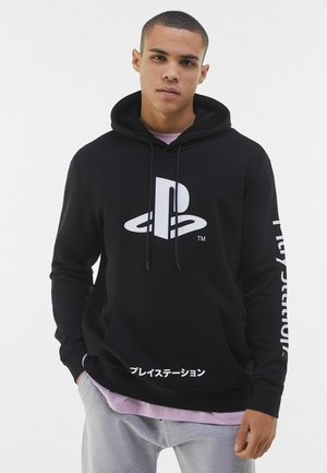 MIT PLAYSTATION PRINT - Sweat à capuche - black