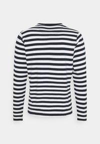 Barbour Beacon - STRIPED TEE - Långärmad tröja - navy - 1