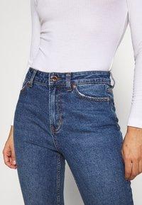ONLY Petite - ONLEMILY - Jeans slim fit - dark blue denim - 3