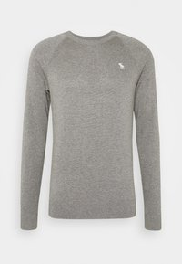 Abercrombie & Fitch - CORE ICON CREW - Jumper - grey - 4