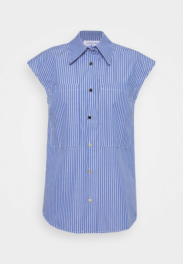 ALLURE - Blouse - blue pin