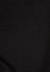 G-Star - GSRAW GR LOOSE ROUND LONG SLEEVE - Long sleeved top - dk black - 5