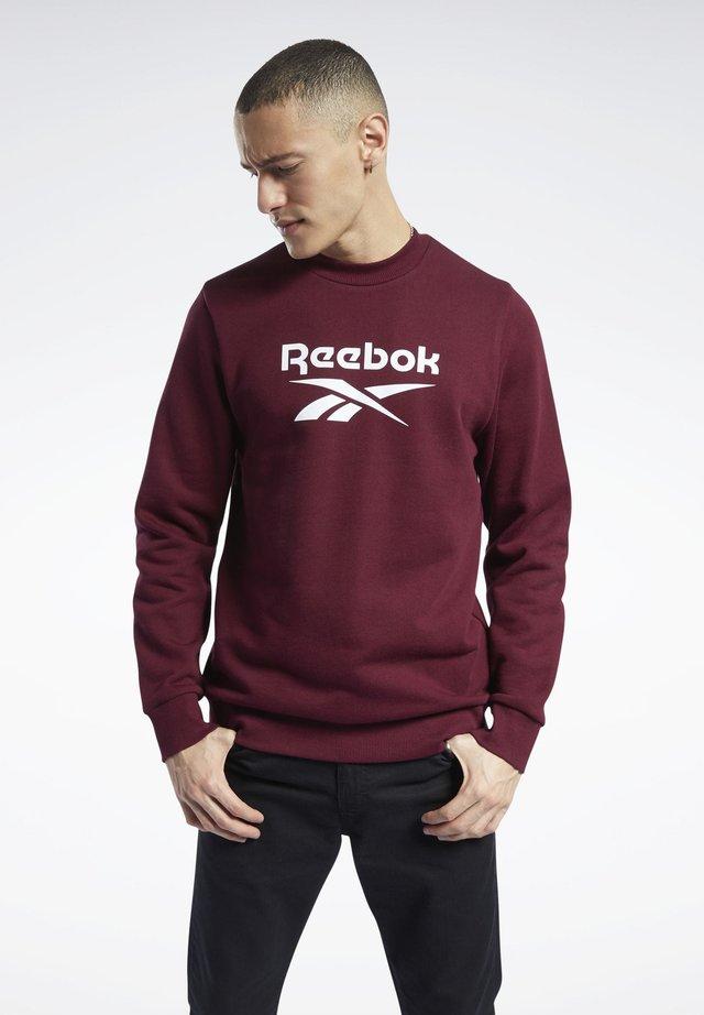 CLASSICS VECTOR CREW SWEATSHIRT - Sweatshirt - burgundy