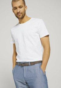 TOM TAILOR - Shorts - light blue minimal indigo - 5