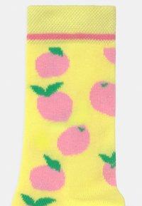 Ewers - LEMON 3 PACK - Socks - rosa/gelb/blau - 2