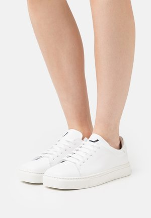 EXCLUSIVE SQUARED SHOES  - Sneakers laag - white