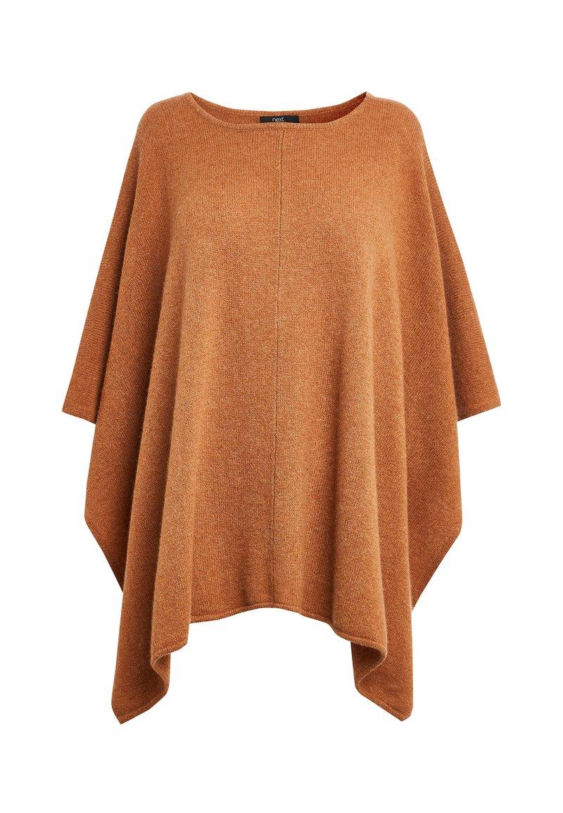 Next - Poncho - brown