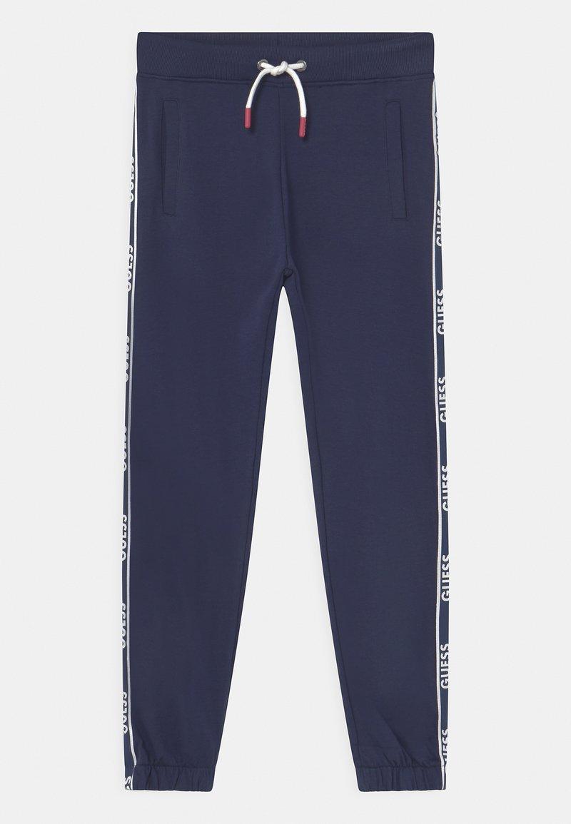 Guess - JUNIOR ACTIVE - Teplákové kalhoty - bleu/deck blue