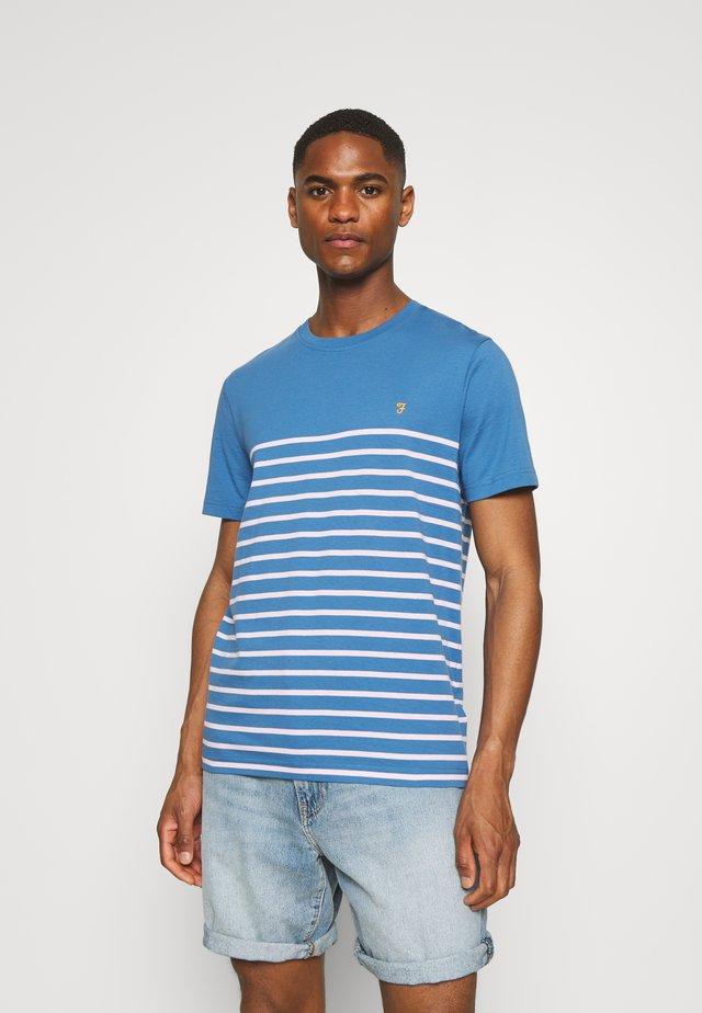 FLORIDA TEE - T-shirt med print - blue mist