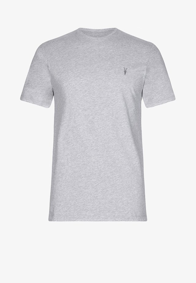 BRACE - Basic T-shirt - grey marl