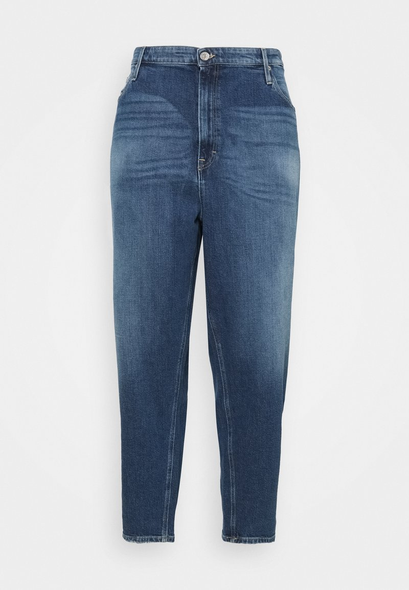 Tommy Jeans Curve - MOM - Relaxed fit jeans - blue denim