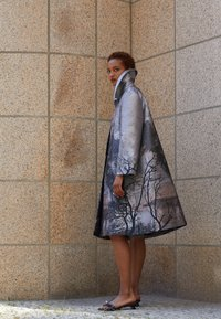 Alberta Ferretti - TRENCH COAT - Klasický kabát - grey - 2