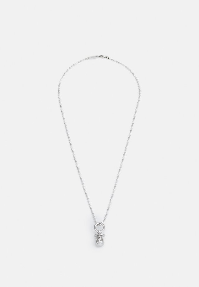 RAVE SOOTHER UNISEX - Collana - silver-coloured